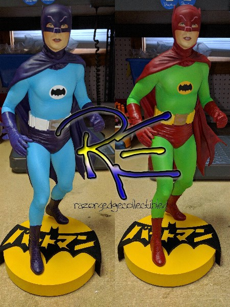 Tweeterhead 1966 Batman TV Series Japan Exclusive Maquette Set