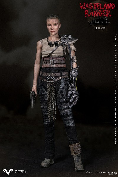 VTS Toys Mad Max Fury Road Imperator Furiosa Sixth Scale Figure