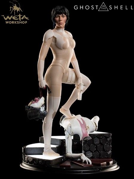 Weta Collectibles Ghost in the Shell Movie The Major Statue