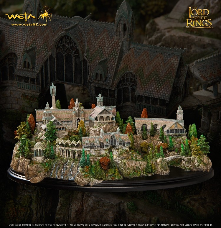 Weta Collectibles The Lord of The Rings Rivendell Environment