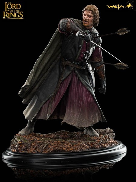 Weta Collectibles The Lord of the Rings Boromir Amon Hen Statue