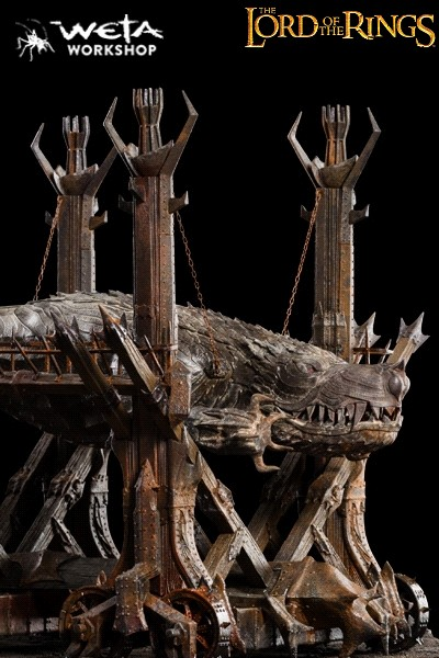 Weta Collectibles The Lord of the Rings Grond Replica Statue