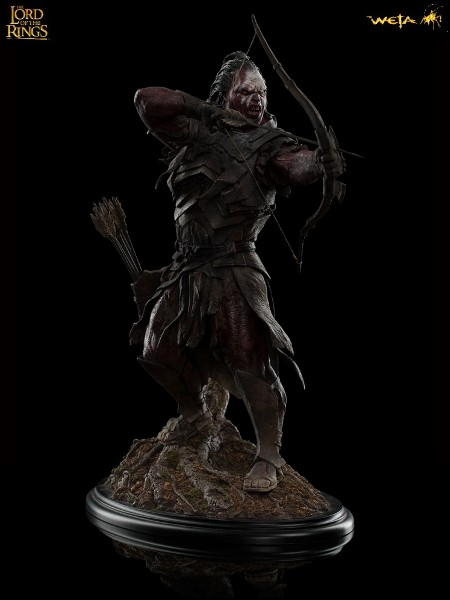 Weta Collectibles The Lord of the Rings Lurtz at Amon Hen Statue