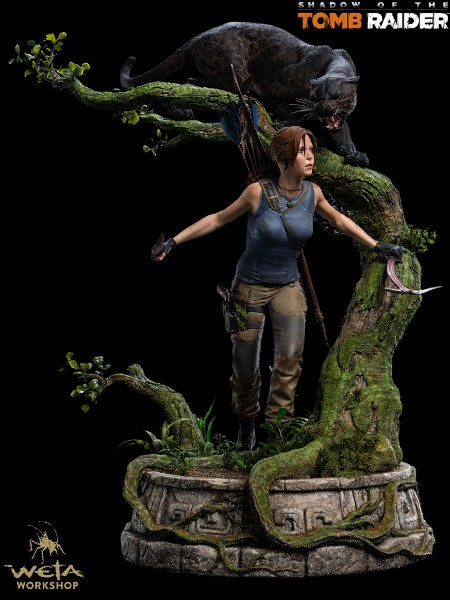 Weta Shadow of the Tomb Raider Lara Croft Quarter Scale Statue