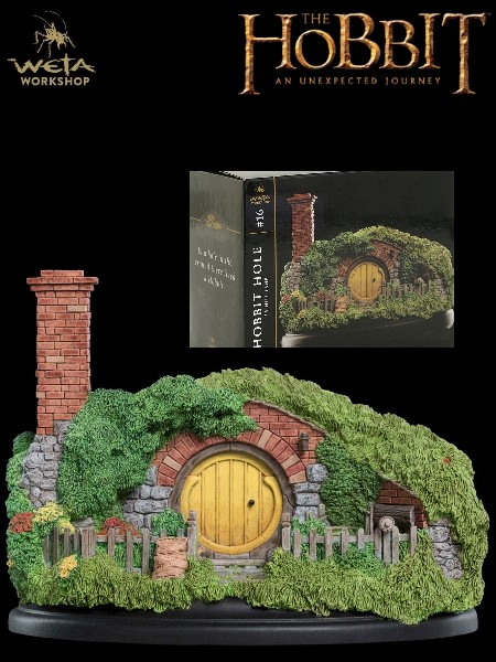 Weta Collectibles The Hobbit 16 Hill Lane Hobbit Hole Statue