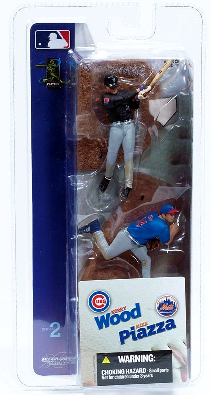 McFarlane MLB Minis Mike Piazza & Kerry Wood 2 Pack