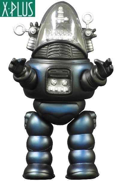 X-Plus Forbidden Planet Robby the Robot 9 Inch Tall PVC Figure