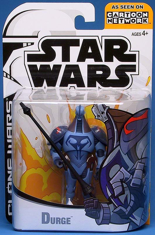 Hasbro Star Wars Clone Wars Animated Season 1 Durge Figure