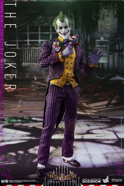 Preorder Hot Toys DC Batman Arkham Asylum The Joker Figure