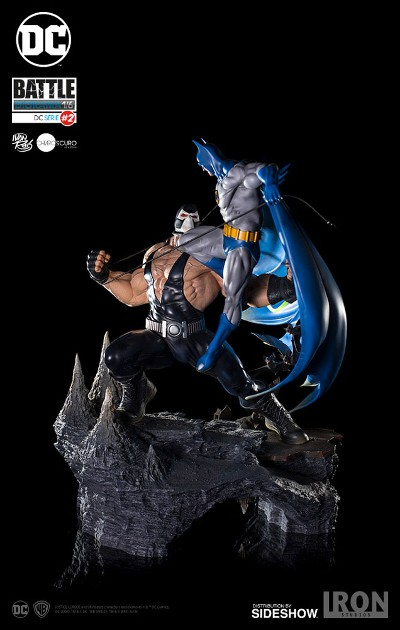 Iron Studios DC Comics Batman vs Bane Sixth Scale Diorama