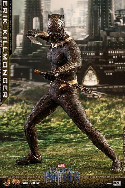Preorder Hot Toys Marvel Black Panther Erik Killmonger Figure