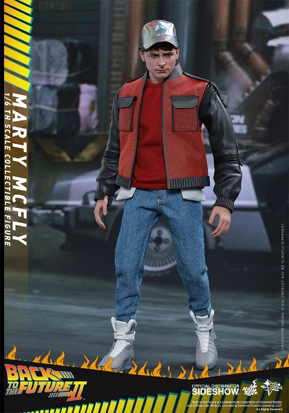 Preorder Hot Toys Back to the Future Part II Marty McFly Figure