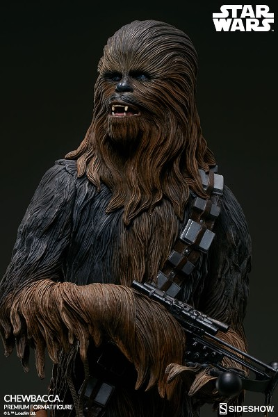 Sideshow Collectibles Star Wars Chewbacca Premium Format Figure