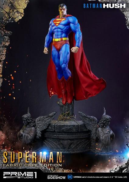 Prime 1 Studio DC Comics Batman Hush Superman Fabric Cape Statue