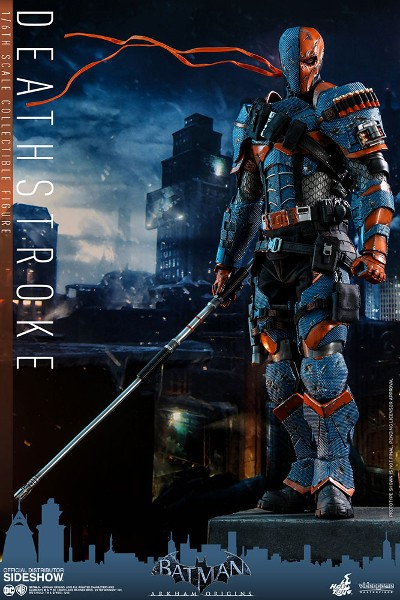 Hot Toys DC Batman Arkham Origins Deathstroke Sixth Scale Figure