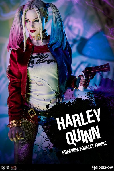 Preorder Sideshow DC Suicide Squad Harley Quinn Premium Format