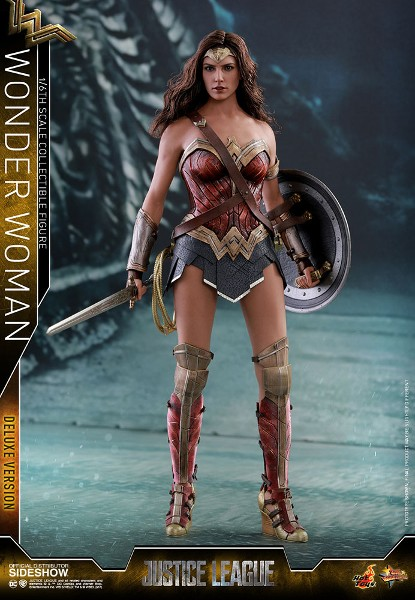 Hot Toys DC Justice League Movie Wonder Woman Deluxe Figure