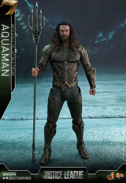 Preorder Hot Toys DC Justice League Aquaman Sixth Scale Figure