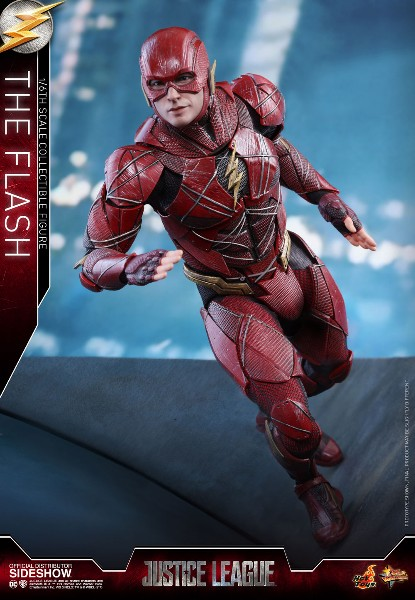 Preorder Hot Toys DC Justice League The Flash Sixth Scale Figure