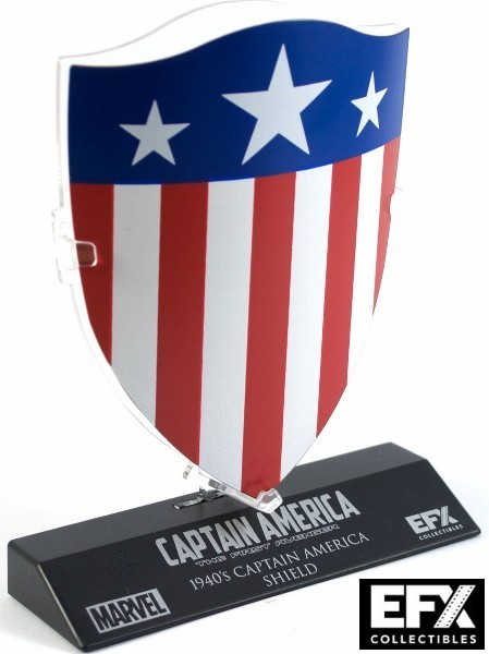 eFX Collectibles Marvel Captain America 1940 Shield Mini Replica