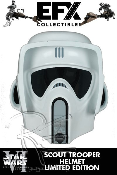 eFX Collectibles Star Wars ROTJ Scout Trooper Helmet Replica