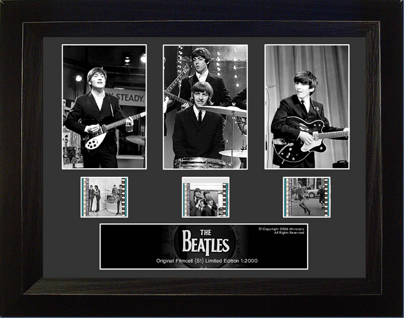 FilmCells The Beatles (S1) 3 Cell Std USFC1949