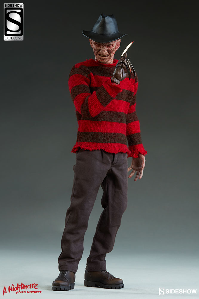 Sideshow A Nightmare on Elm Street Freddy Sixth Scale Exclusive