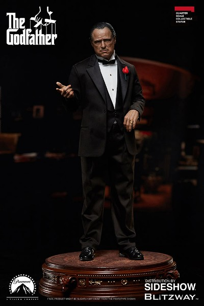 Blitzway The Godfather Don Vito Corleone Qurter Scale Statue