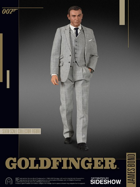 Big Chief Studios James Bond 007 Goldfinger Sixth Scale Figure