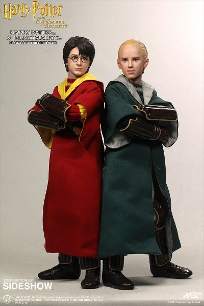Star Ace Toys Harry Potter and Draco Malfoy Quidditch Figure Set