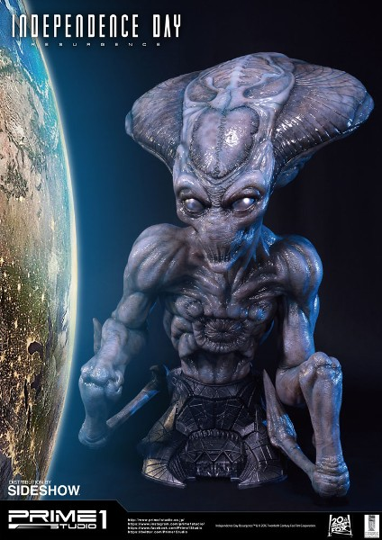 Prime 1 Studio Independence Day Alien Life Size Bust