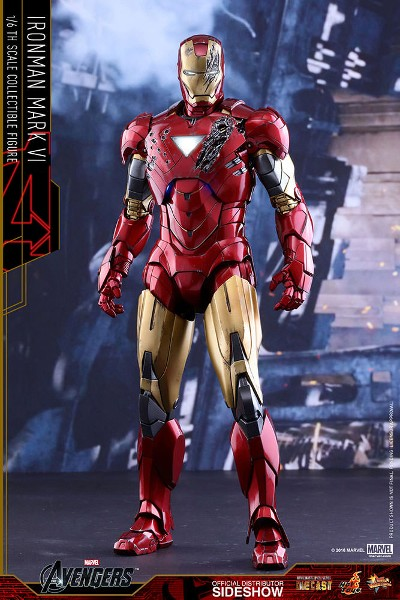 Preorder Hot Toys Marvel Avengers Iron Man Mark VI Diecast