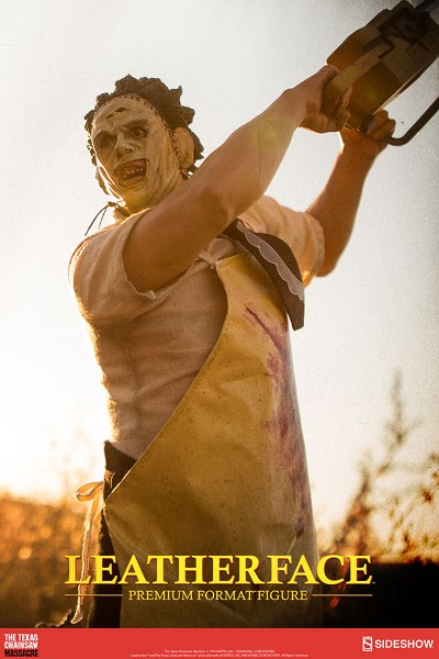 Preorder Sideshow Texas Chainsaw Leatherface Premium Format