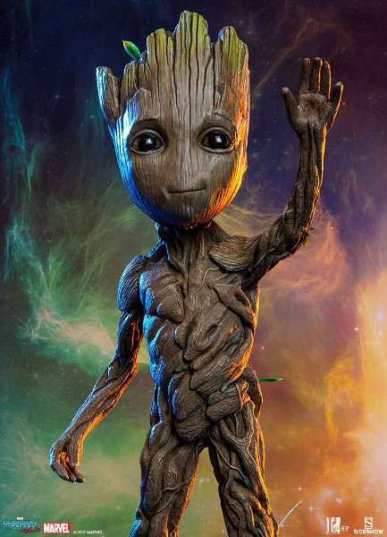 Preorder Sideshow Marvel Guardians of the Galaxy Groot Maquette