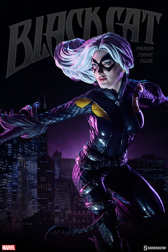 Sideshow Collectibles Marvel Black Cat Premium Format Figure