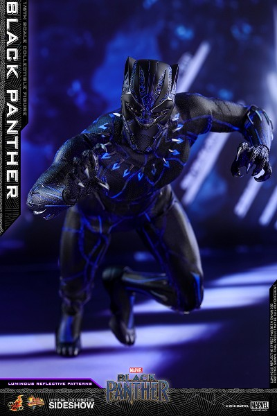Preorder Hot Toys Marvel Black Panther Movie Sixth Scale Figure