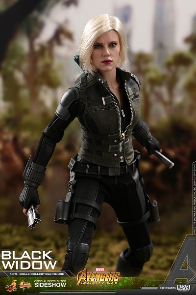 Preorder Hot Toys Marvel Avengers Infinity War Black Widow Figur