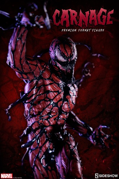 Preorder Sideshow Collectibles Marvel Carnage Premium Format