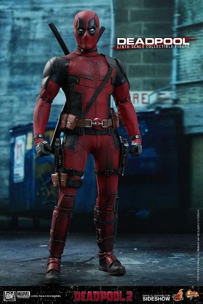 Preorder Hot Toys Marvel Deadpool 2 Movie Deadpool Figure