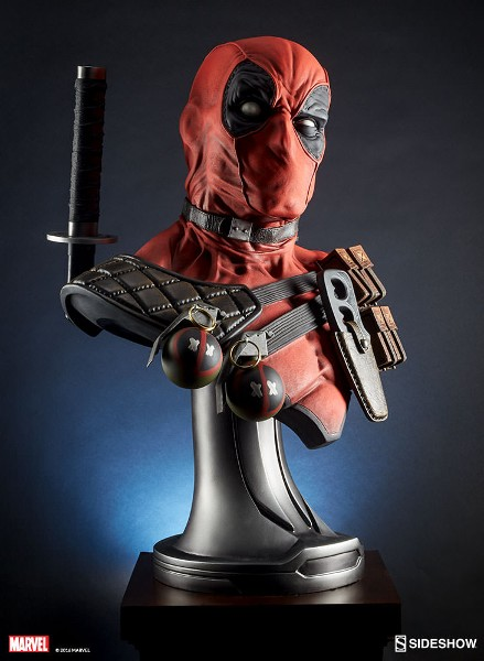 Preorder Sideshow Collectibles Marvel Deadpool Life Size Bust