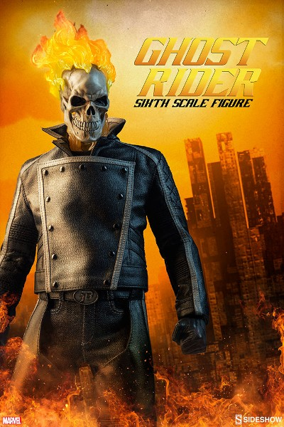 Preorder Sideshow Marvel Ghost Rider Sixth Scale Figure