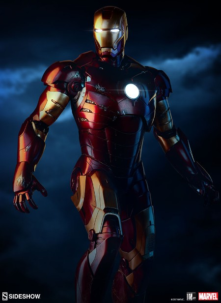 Preorder Sideshow Collectibles Marvel Iron Man Mark III Maquette