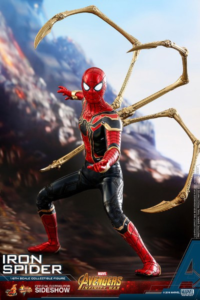 Preorder Hot Toys Marvel Avengers Infinity War Iron Spider-Man
