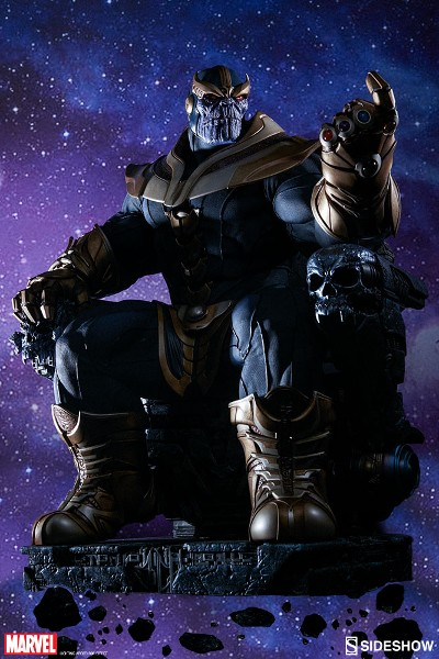 Sideshow Marvel Guardians of the Galaxy Thanos & Throne Maquette