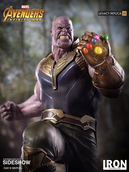 Preorder Iron Studios Marvel Avengers Infinity War Thanos Statue