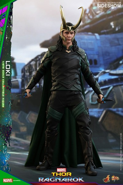 Preorder Hot Toys Marvel Thor Ragnarok Movie Loki Figure