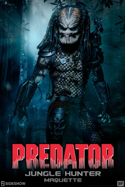 Preorder Sideshow Collectibles Predator Jungle Hunter Maquette