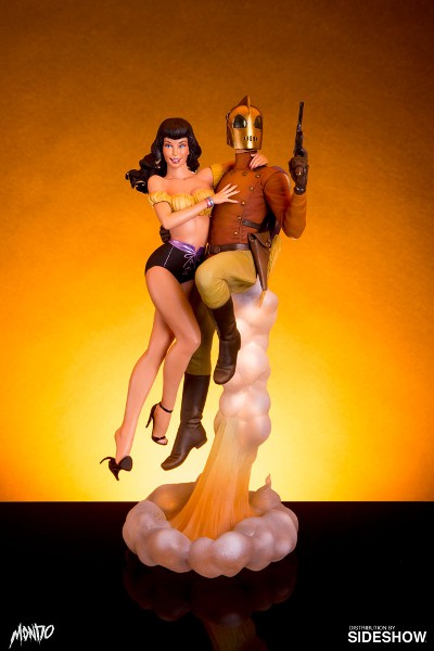 Preorder Mondo Rocketeer and Betty Statue