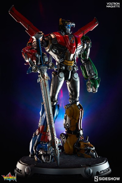 Preorder Sideshow Voltron Defender of the Universe Maquette