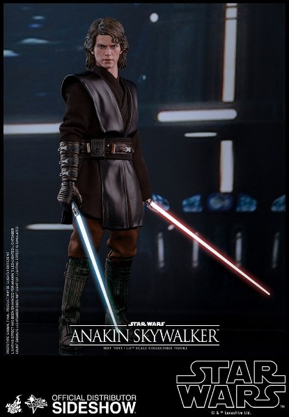 Preorder Hot Toys Star Wars Anakin Skywalker Sixth Scale Figure